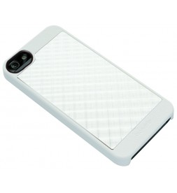 iPhone 5 AluCover - White Grid