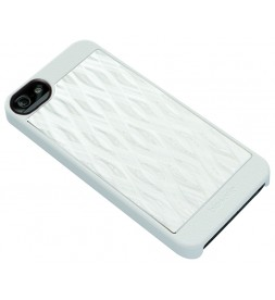iPhone 5 AluCover - White Wave